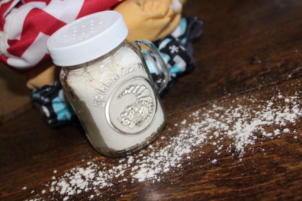 DIY baby powder