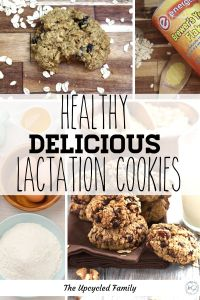 Looking for the Best Lactation Cookie Recipe that also doesn't shoot your health and fitness goals? Try this naturally good (refined sugar-free) lactation cookie that's both delicious and good for you while giving a boost to your milk supply! #lactationcookie #recipe #easy #healthy #best #oatmeal #breastfeeding #milksupply #sugarfree