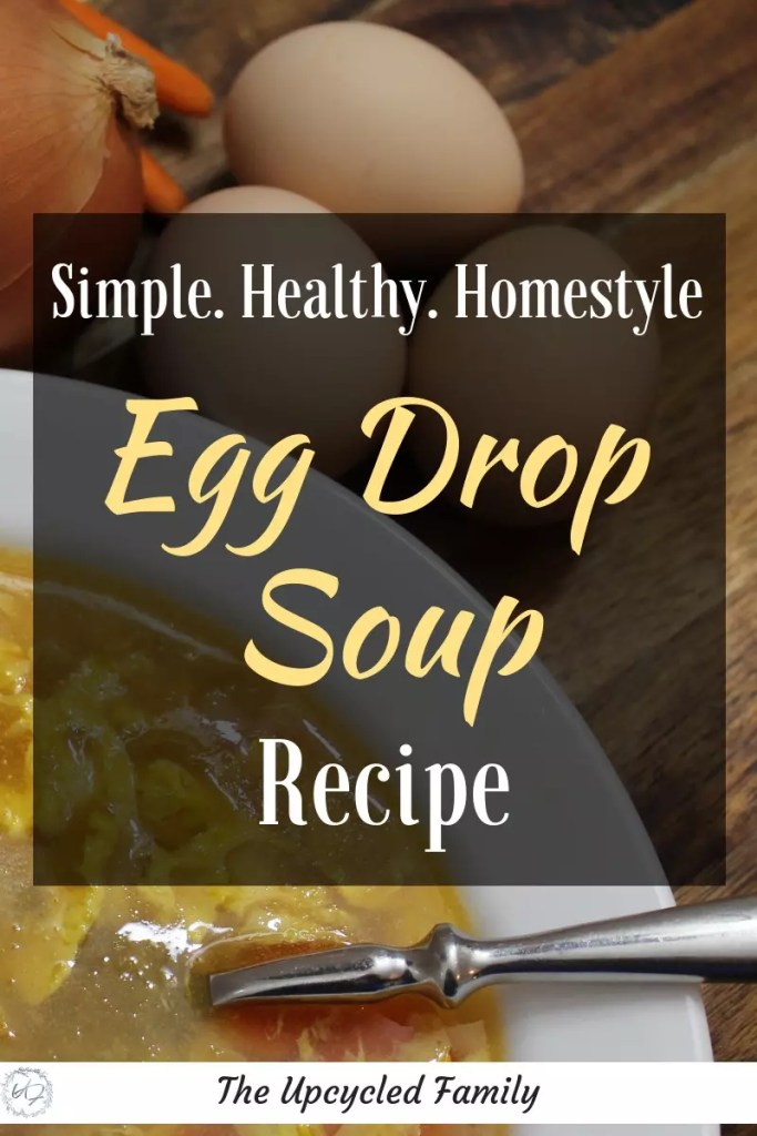 Whats better that quick chines take-out egg drop soup? Why this helathy homestyle egg drop soup recipe is! Try this gluten-free easy egg drop soup recipe and you will never go back to that stuff from the chinese buffet again. #eggdropsoup #eggdropsouprecipe #eggdropsoup #healthyeggdropsoup #authenticeggdropsoup #easyeggdropsoup