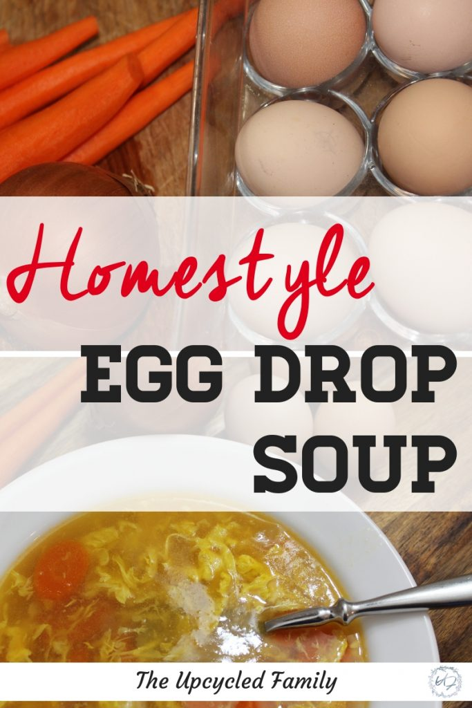 What's better than quick chines take-out egg drop soup? Why this healthy homestyle egg drop soup recipe is! Try this gluten-free easy egg drop soup recipe and you will never go back to that stuff from the Chinese buffet again. #eggdropsoup #eggdropsouprecipe #eggdropsoup #healthyeggdropsoup #authenticeggdropsoup #easyeggdropsoup