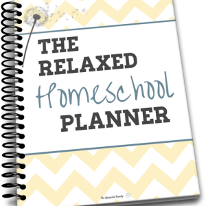 The relaxed homeschool planner