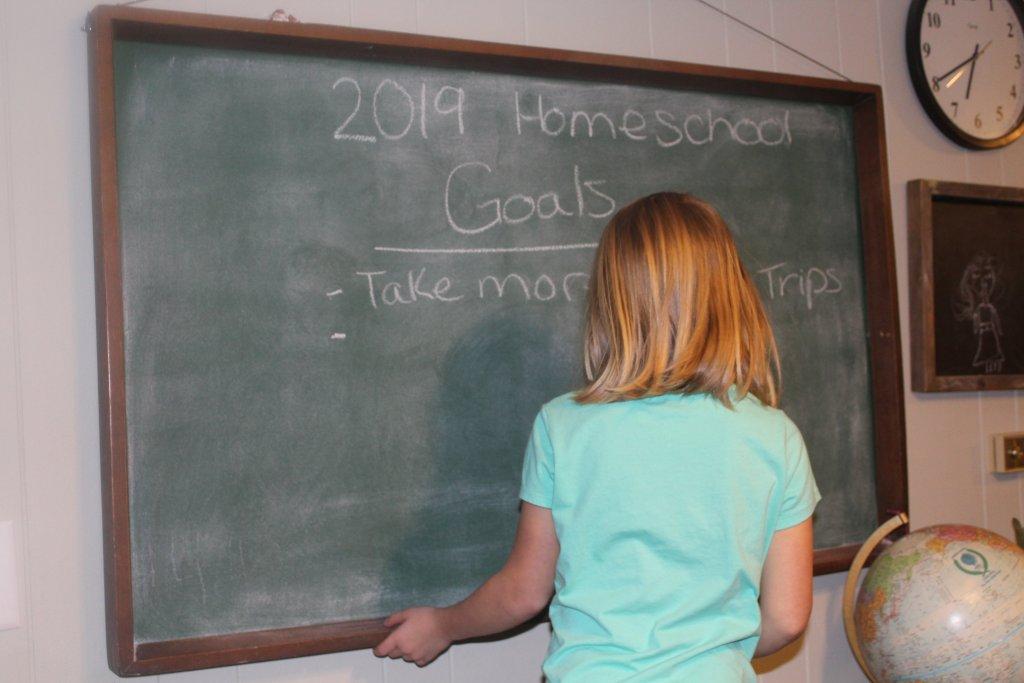 teaching goal setting in your homeschool