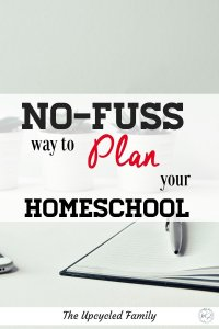Homeschool planning the no-fuss way. The simple relaxed way to plan and manage homeschool life. #homeschoolplanning #homeschoolplanner #printable #formultiplekids #best #weekly #ideas #homeschool #reuseable