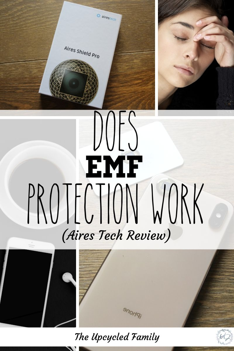 Aires Tech review and personal EMF protection | The Upcycled