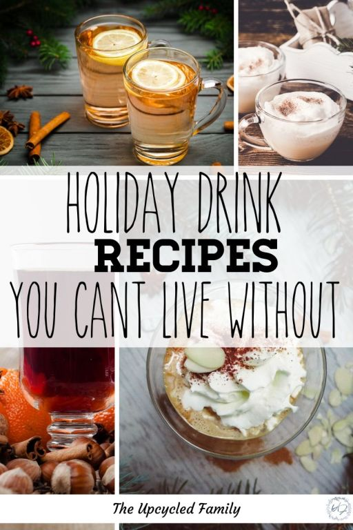 the best holiday drink recipes