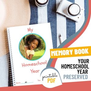 homeschool memory book