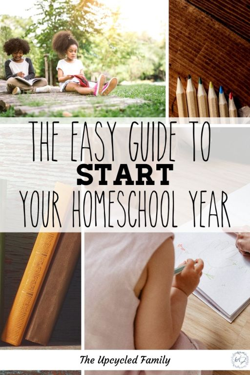 The Easy guide to start your homeschool year