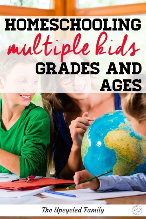 homeschooling multiple kids grades and ages