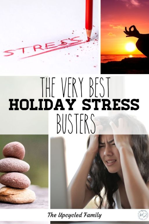 the best holiday stress busters