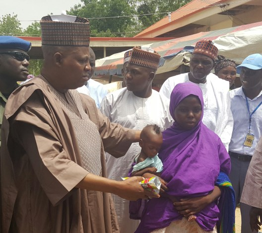 Borno Governor Reveals Total Cash Donations On IDPs