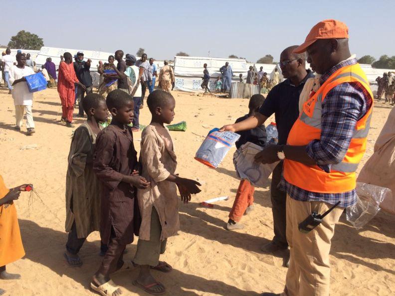 NEMA Northeast, BOSEMA Reach Out To Konduga IDPs Camp Affected By Fire Outbreak
