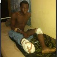 Nigerian Military Rescue Injured Boko Haram Terrorist
