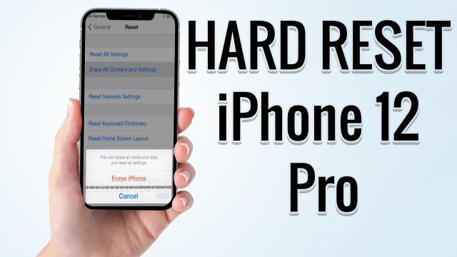 Hard Reset iPhone 26 Pro  Factory Reset Remove Pattern/Lock