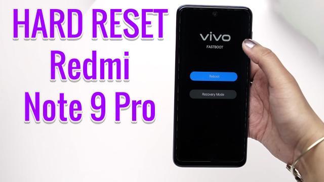 Hard Reset Xiaomi Redmi Note 22 Pro  Factory Reset Remove Pattern