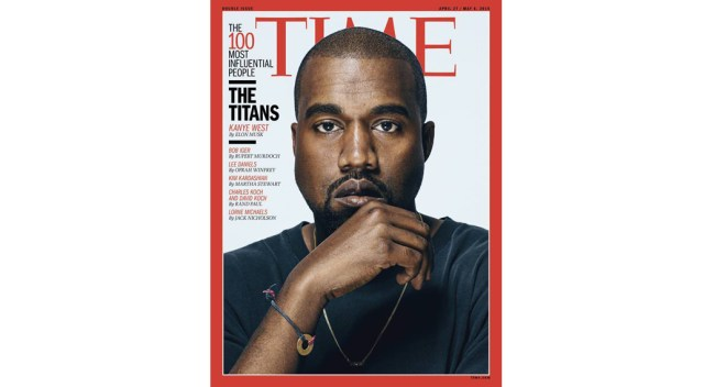 kanye West-time-cover