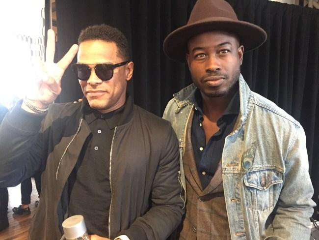 Justin Great and Maxwell New York Mens Fashion Week 2016 NYFWM
