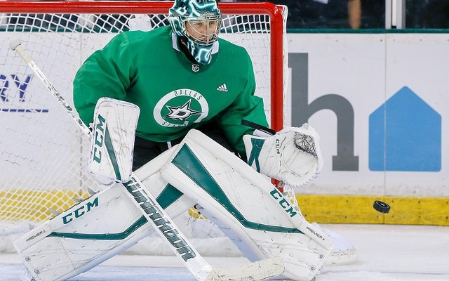 Ben Bishop out at least one game with sore back