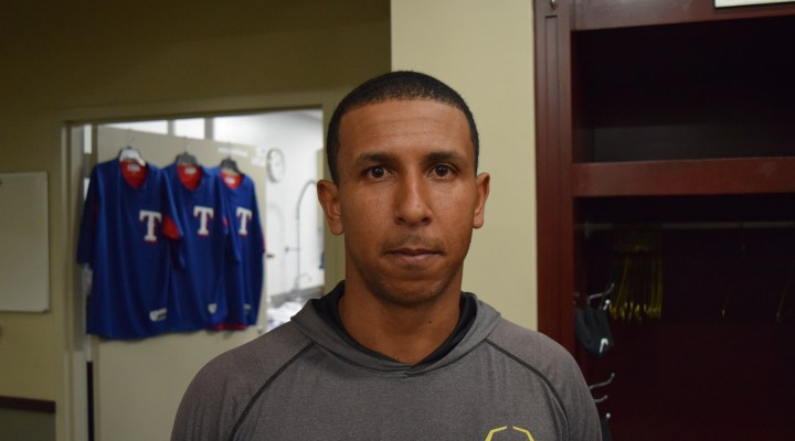 """""""Pitch or Go Home."""" Anthony Gose meets the Arlington media"""