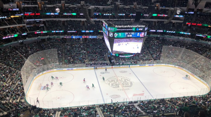 Stars Lose on Home Ice to Blue Jackets 2-1