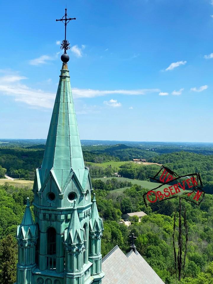 holy hill; basilica; shrine; chapel; the cross; way of the cross; walk; hike