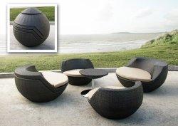 rattan patio furniture the urban backyard