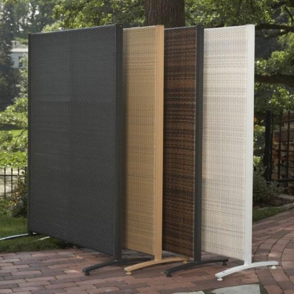 Resin Outdoor Privacy Screen Panels Urban Backyard