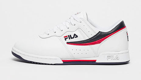 FILA Heritage Original Fitness white red blue