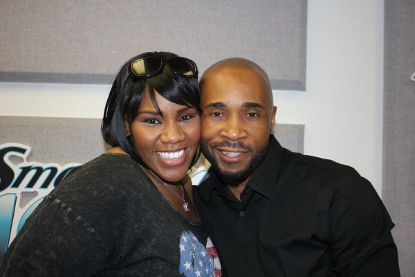 Kelly Price and Antoine Davis
