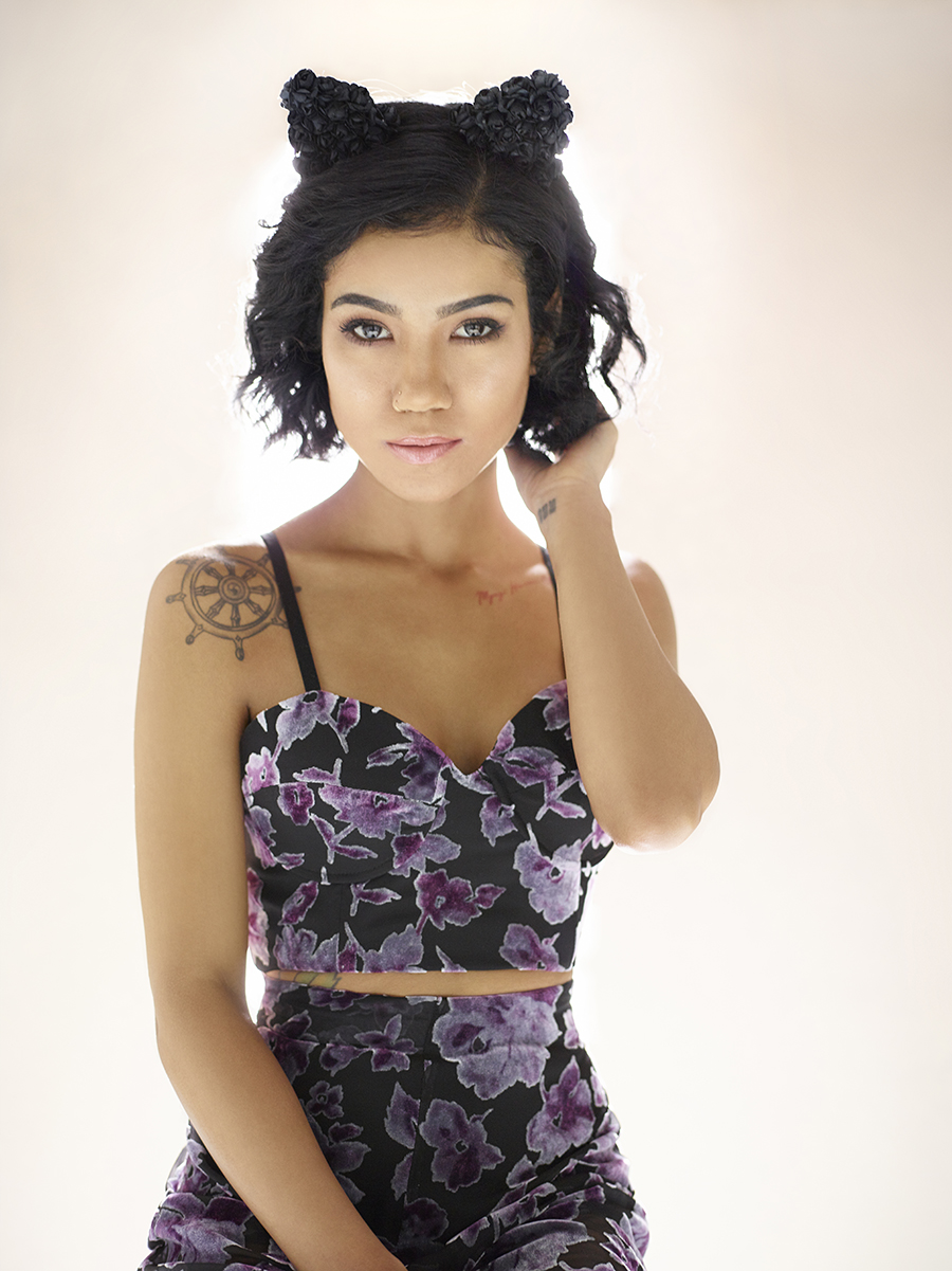 Glamher Songstress Jhene Aiko Teams Up With Lovers