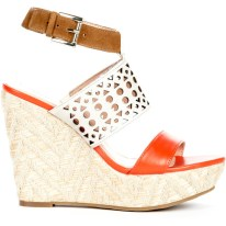COLORBLOCK| Sole Society Bristol Wedges, $60, available at SoleSociety.com