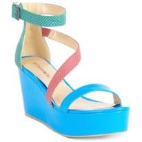 NEON| Barefoot Tess Shoes, Belize Platform Wedges, $79, available at macys.com