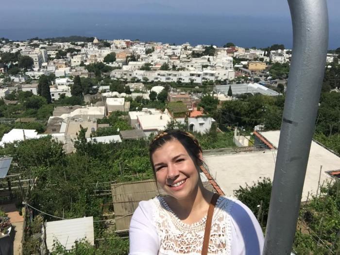 Capri, Italy, Monte Solaro, mountain, chair lift, travel, Europe, Amalfi Coast