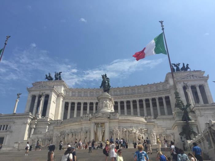 Rome, Italy, Europe, travel, wanderlust, monument, Italian king, Monumento Nazionale a Vittorio Emanuele II