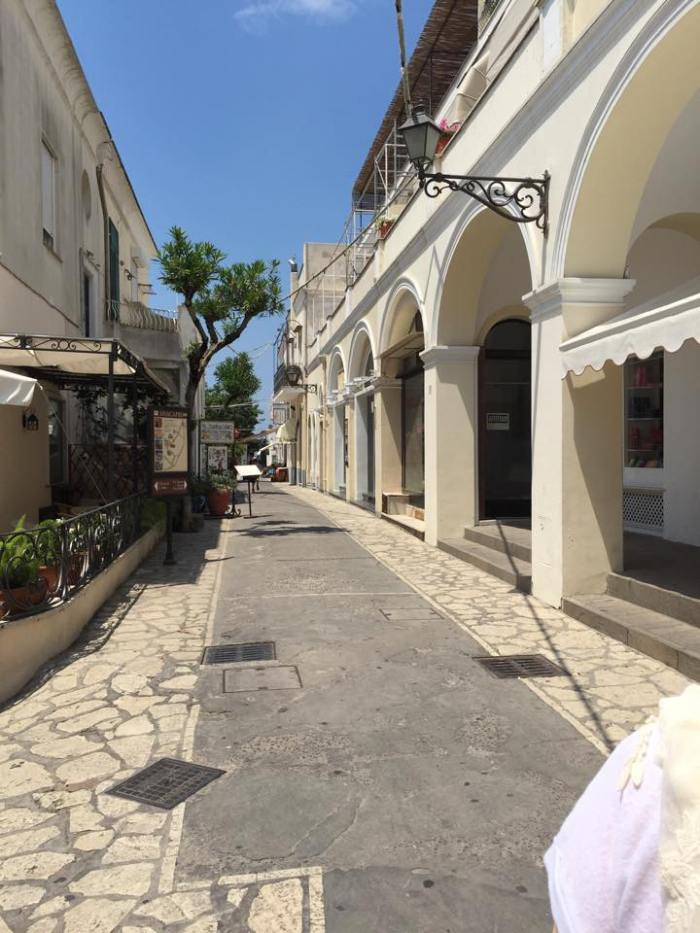 Capri, Italy, travel, Europe, Amalfi Coast, town, town square.
