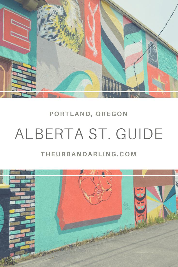 Alberta. Alberta Street, Alberta Arts District, Portland, Oregon, Street Art, Art, Street Guide, Guide