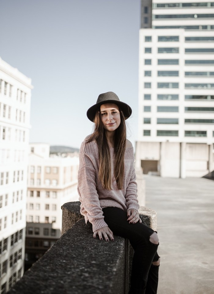 Rooftop Photo Shoot with Corrie Mahr Photography