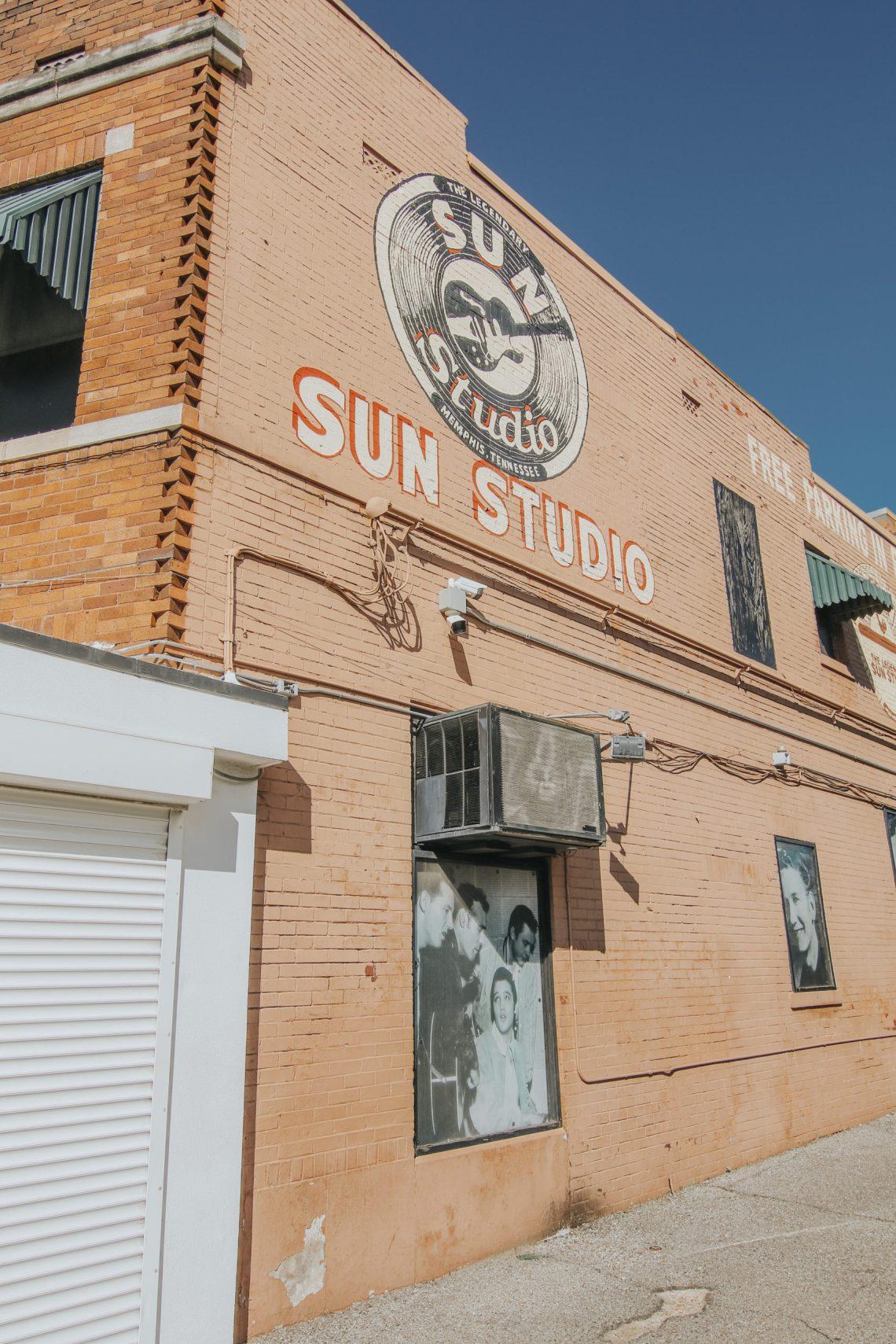 Sun Studio, Memphis, Tennessee, Memphis Travel Guide, travel guide, The Best Instagram Spots in Memphis, travel, The Urban Darling, fashion, boho fashion, bohemian.