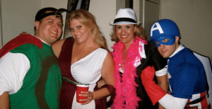 Was captain america at your halloween party?