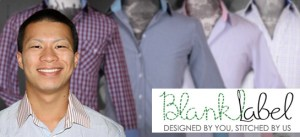 Danny Wong, the 20 year old founder of Blank Label