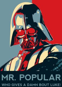 Eff you, Luke!Image source: http://iateyourcookies.deviantart.com/art/MR-Popular-199574451