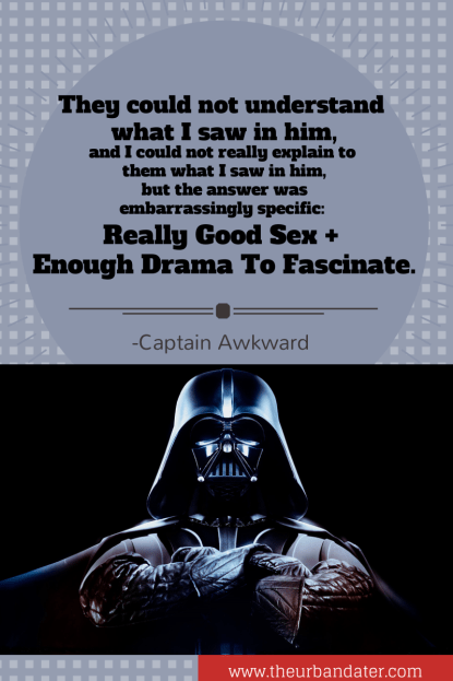 Click this image for more about Darth Vader Boyfriends.