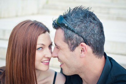 happy couple, dating tips for men, is my date into me, signs your date is into you,