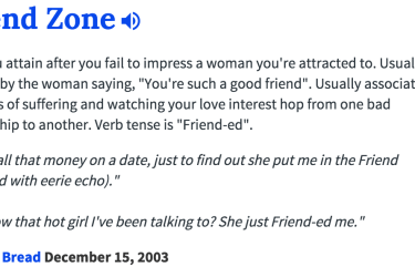 friend zone myth
