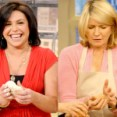 Rachel Ray and Martha Stewart threesome