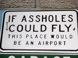 assholes in flight