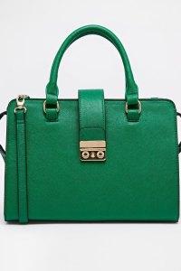 ASOS green bag