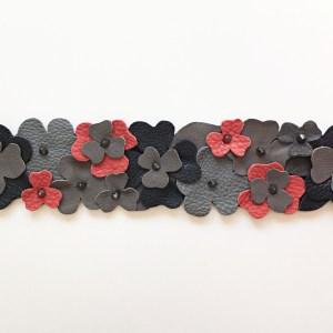 accesoriu geanta flori gri mydreambag sashaccessories