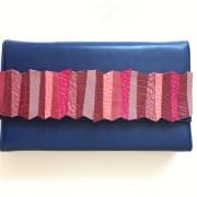 geanta piele albastru mydreambag accesoriu detasabil rose sashaccessories