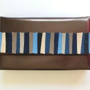 geanta piele bronz mydreambag accesoriu detasabil albastru sashaccessories