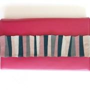 geanta piele fuchsia mydreambag accesoriu roz-gri-verde sashaccessories